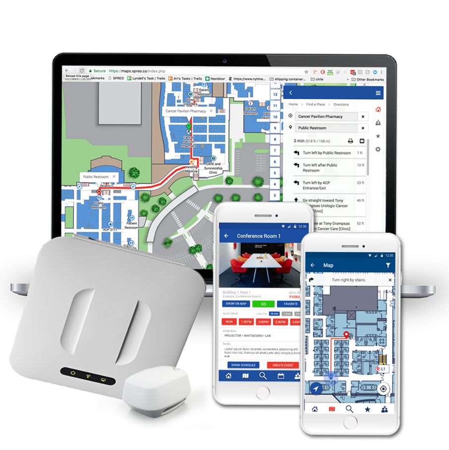 Partner with SPREO for Indoor Location and Mapping