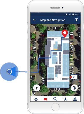 SPREO wayfinding and Location