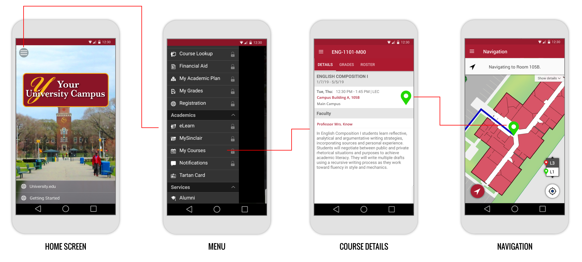 SPREO-College Wayfinding and Location integration